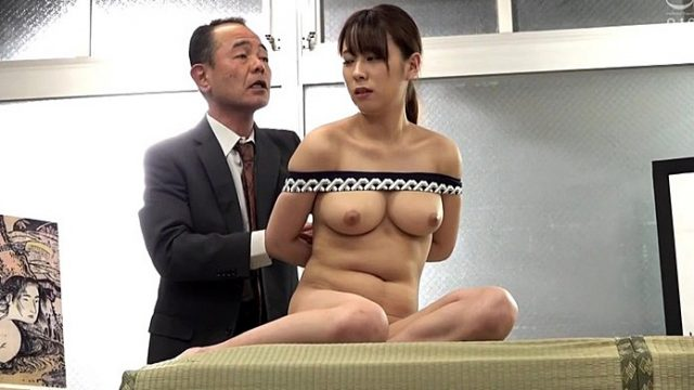 羞恥!春画のデッサンモデルにされる新任女教師! 天上みさ 1